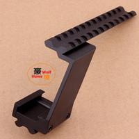 Wholesale Universal Tactical Pistol Scope Laser Flashlight Adptor Rail Mount Weaver