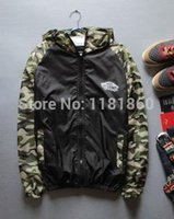 Wholesale Fall Alisister Summer men s outdoors Jacket Camouflage clothes Zipper Sports Trench coat d printed casual ultra thin Hooded top