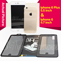 Wholesale Iphone Plus Iphone S Plus S Samsung Galaxy S6 Note Top Quality Tempered Glass Screen Protector MM H D