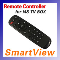 Wholesale 1pc M8 Remote Controller for M8 Android TV Box XBMC with high quality replacement Remote Control for M8N Box