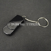 Wholesale 2014New Key Chain Style HD P USB Disk Hidden Camera Mini DV DVR With Motion Detector Vedio Voice Record Key Camcorders