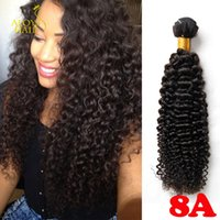 Wholesale Curly Brazilian Unprocessed Human Hair - Unprocessed 8A Brazilian Curly Virgin Hair Peruvian Malaysian Indian Cambodian Mongolian Deep Curly Wave Human Hair Weaves Bundles Soft Full