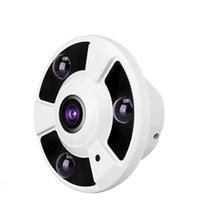Wholesale 1 MP P Degree Wide Angle Fisheye Panoramic Camera CCTV Camera AHD Infrared Surveillance Camera Security Dome Camera OEM