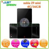 Cheap 5 inch ZTE Nubia Z9 mini 4G Smartphone Snapdragon 615 Octa Core 2GB RAM 16GB ROM 16MP Camera Dual SIM OTG GPS Android 5.0 Unlocked Phones