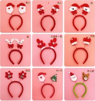 Wholesale Beautiful Christmas gifts hair Clasp head band many style to choice caribou horn put on the head Dress Cosplay free ship