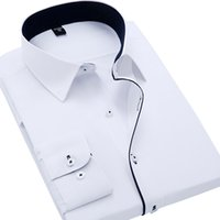 casual shirts for men - new brand dress shirt men High quality Men s shirts Long sleeve autumn plaid casual shirts for man