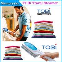 Wholesale 2014 Newest TO Bi Multifunction Travel Handheld Portable Steamer Iron Dry Brush Tobi Garment Travel Steamer Brush v v