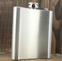 Wholesale Thickening oz jack daniels stainless steel hip flask russian hip flask male small portable hip flask