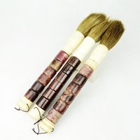 asian craft ideas - Asian Chinese painted artists decorative jade abacus handle art brush pen traditional artwork home interiror design crafted idea