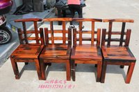 Wholesale Old wooden chair Old Ship original ecological wood mahogany dining chairs chair chair lounge chair guest host chair