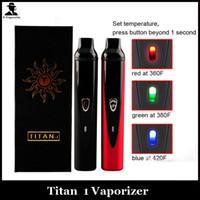 Cheap Single titan 1 vaporizer Best Electronic Cigarette Titan Set Series dry herb vaporizer