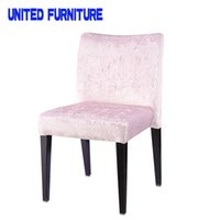 Wholesale The new designer fabric upholstered chair restaurant coffee Ash wood grain flower chair IKEA chair book Modern Dining Chair