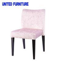 ash wood chair - The new designer fabric upholstered chair restaurant coffee Ash wood grain flower chair IKEA chair book Modern Dining Chair