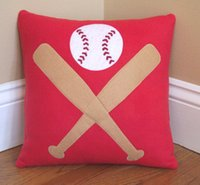 baseball pillow - Can be customized Canvas pillow cushion pillow car pillow cushion Baseball