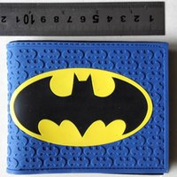 animated for sale - allets Holders Wallets Hot Sale Dc Comic Superhero Batman Animated cartoon wallet personality wallet Creative Gift for