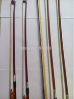 Wholesale Professional high quality violin bow size violin brazilwood bow Horse hair bow violin use