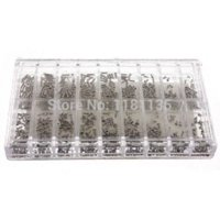 Wholesale New Stainless Steel Tiny Screws Kit Tools For Eyeglass Watch Clock Repair screw cap