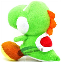 Wholesale Super Mario StuffedToy baby Plush Green sit yoshi dragon children Cartoon Gifts High Quality Soft Plush Toys WD1196