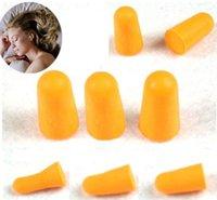 Wholesale Pairs Foam Sponge Earplug Ear Plug Keeper Protector Travel Sleep Noise Reducer