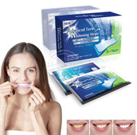 Wholesale 14 Pouches Stripes Professional Home Teeth Whiting Strips Whitening Paste Oral Hygiene Teeth Tooth Whitstrips