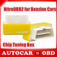 Wholesale 10 High Quality Plug Drive NitroOBD2 Performance Chip Tuning Box for Benzine Cars Nitro OBD2 Chip Tuning Box Interface