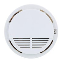 Wholesale Wireless Smoke Detector High Sensitive Fire Alarm Sensor Monitor for Home Security Photoelectric Smoke Alarm A5