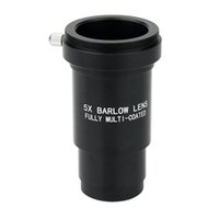 Wholesale 1 Inch Fully Metal Multi Coated X Barlow Lens M42 Thread For mm Telescopes Eyepiece W2157A