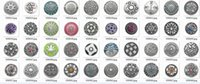 Wholesale 100pcs mixed deisgns for your choice zinc alloy crystal Noosa mm mm snap ginger snap button Chunks Clasps Snap Jewellery Noosa