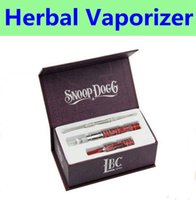 Cheap Snoop Dogg Box kit dry herbal vaporizer e cigarette starter kits electronic cigarettes DHL Free Shipping