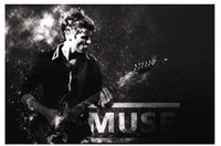 animal muse - 50x75CM Wall Sticker Posters Home decoration Muse Band Play Guitar Top Quality Office Room Poster Affiche Cartel
