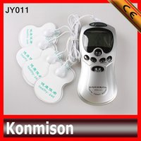 Wholesale 2015 Latest model Digital Therapy Acupuncture Electrostatic Therapy Machine Massager With Pads