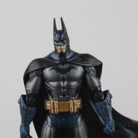 batman returns toys - 18cm Anime Superhero Brinquedo Batman Doll The Dark Knight Returns Marvel Arkham City Action Figure Kids Collectible Model Toys