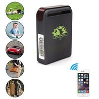 Wholesale New Mini GPS GSM GPRS Car Vehicle Tracker TK102B Realtime Tracking Device Person Track Device HA10647