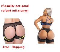booty shorts - Sexy Women Shapers Panty Slim boyshort Underwear Booty Lifters Butt Enhancer Shorts Pants Trainers Plus Size Butt Lifters