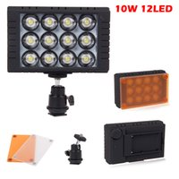 Wholesale WanSen W12 Camera LED Video light DV Camcorder Lamp for Canon Nikon Sony DSLR by epacket ZM00090