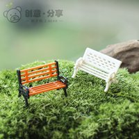 home furniture decoration - Artificial Furniture Chair Fairy Garden Miniature for Moss Home Deocration Accessories Gnome Bonsai Toys Handmade Crafts