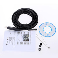 Wholesale KKmoon mm m Mini Digital USB Endoscope Inspection Camera for PC with Adjustable Brightness and Built in LED Lights