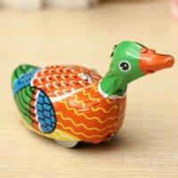ball bearing construction - Dreamfire Retro Vintage Clockwork Metal Floating Duck Goose Wind Up Tin Toys toy diecast construction vehicles