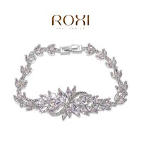 Cheap ROXI bracelets & bangles crystal bracelet wedding jewelry new women 2014 friendship bracelet luxury engagement item for bridal
