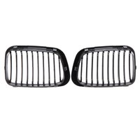 Wholesale Auto Car Styling Front Kidney Replacement Grill Mesh Grille for BMW Series E46 DR Car Replacement