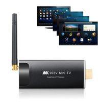 Wholesale Quad Core Android TV Stick Receivers MK903V Mini PC TV Dongle Stick A17 RK3288 K H Dual Wifi XBMC Bluetooth