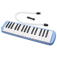 Wholesale 32 Piano Keys Melodica SET Musical Instrument for Music Lovers Beginners Gift with Carrying Bag colors order lt no track