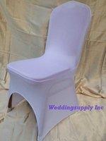 Cheap chair cover white Best spandex lycra wedding