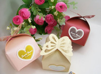 Wholesale 100 Paper Box Candy Gift Box Wedding Party Celebration Decoration Wedding Supplies Favor Holders Butterfly Box without Sweet heart w6527