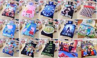 Cheap 5pcs 16 stlys Frozen Minecraft Ninja Turtles Patrol Skull Doctor Who Lego Kids Bedding 3D Bedding Twin Full Queen Hot Sellers