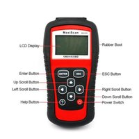 asian auto repair - MaxiScan MS509 OBDII EOBD Most Economical Auto Code Reader for US Asian Europe cars