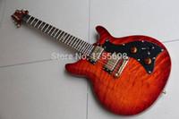 Wholesale New PR Custom F with Abalone Birds Inlay electric guitar string CS Cherry Sunburst