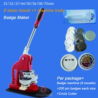 Wholesale Badge Machine including mm Button moulds