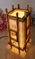 bedroom writing desks - Creative home decor vintage wooden desk lamp bedroom lamp bedside lamp light ornaments rustic wooden writing