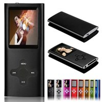 Wholesale Hot Sale GB LCD Screen FM Radio Movie Player Ultra Slim Mp3 Mp4 Player